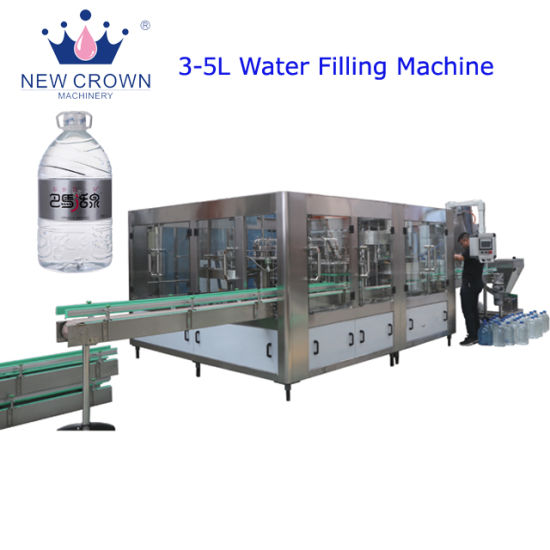 Automatic Pet Bottle Mineral Water/Juice/Drinking Water Bottle Machine/Filling Machine