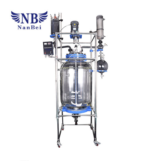 200L Chemical Lab Jacketed Glass Reactor with Ce pictures & photos