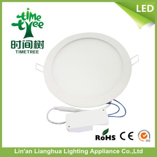Super Bright Round Square 9W LED Panel Light pictures & photos