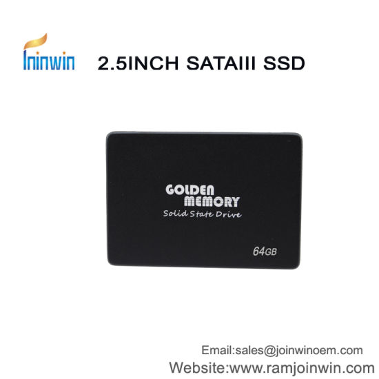 Golden Memory/OEM 2.5inch SATA3.0 Sm2246xt 64GB Ssdhard Disk pictures & photos