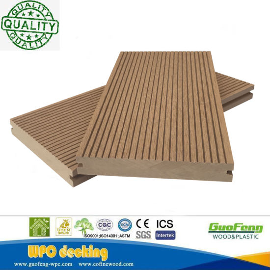 Wood Plastic Composite Price/Composite Deck Board/Composite Outdoor Flooring pictures & photos