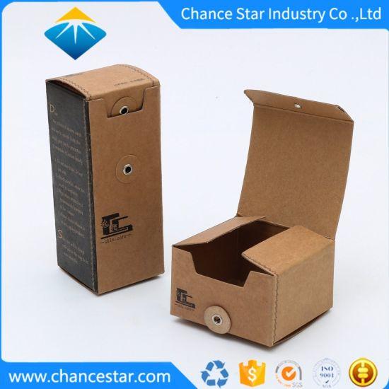 Custom Eco Printed Recycled Brown Kraft Paper Packaging Boxes