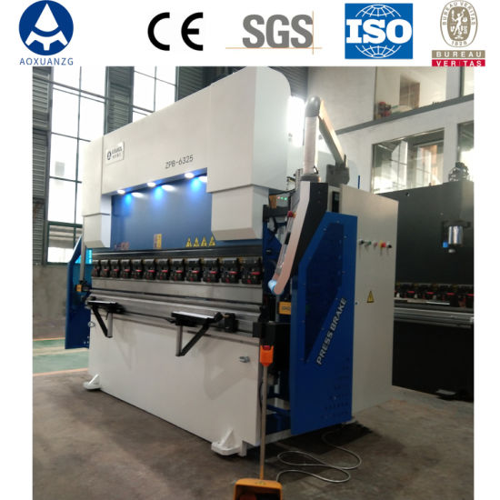 We67K 63t/3200 Hydraulic Press Brake, Metal Bending Machine with Delem Da66t, Hydraulic 8+1 Axis Metal Bender