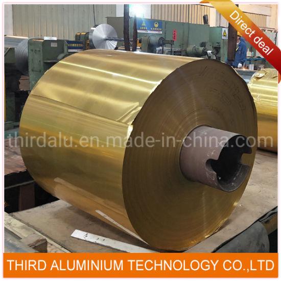 Gold Finish Aluminum Sheet Coil for Channel Letter
