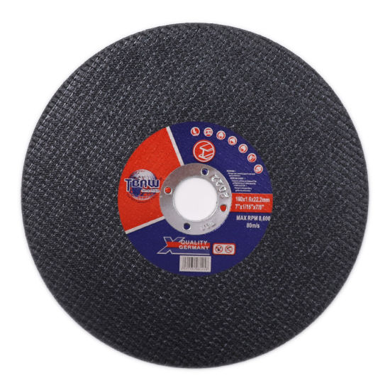 180mm Thickness 1.6mm 7inch Power Tool Abrasive Disc Cutter Cutting Wheel for Grinder