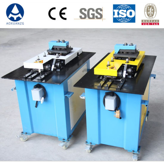 Seven Function Lock Forming Machine Air Duct Locking Machine