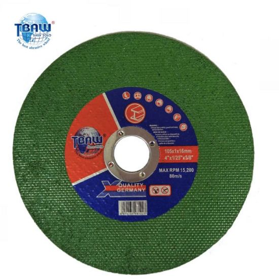 4 Inch High End Abrasive Cut off Disc, Grinding Disc, Cutting Wheel for Metal Grinder