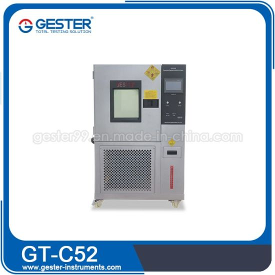 Programmable Temperature and Humidity Test Chamber Price Environmental Chamber Gt-C52