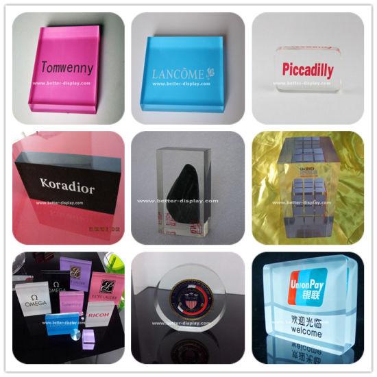 Custom Clear Acrylic Block Professional Manufacturers