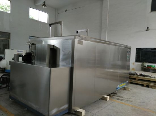 Tense Ultrasonic Cleaning Machine with Oil Skimmer / Pneumatic Cover (TSC-12000A) pictures & photos