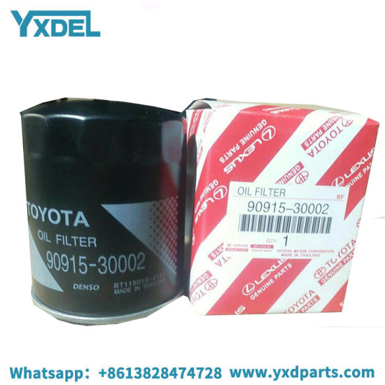 Best Price Wholesale Denso Oil Filter for Toyota 90915-30002 pictures & photos