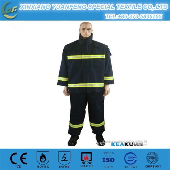 260GSM Flame Retardant Cotton Safety Clothing pictures & photos
