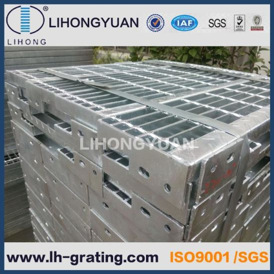 Steel Stair Tread With Non Slip Nosing