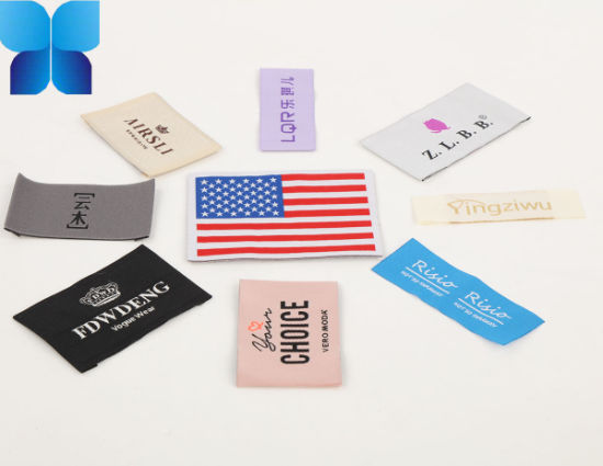 Hot Sell Polyester Satin Neck Label for Garment