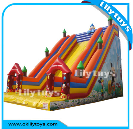 Kids Inflatable Dry Slide / Bouncer Slide for Sale pictures & photos