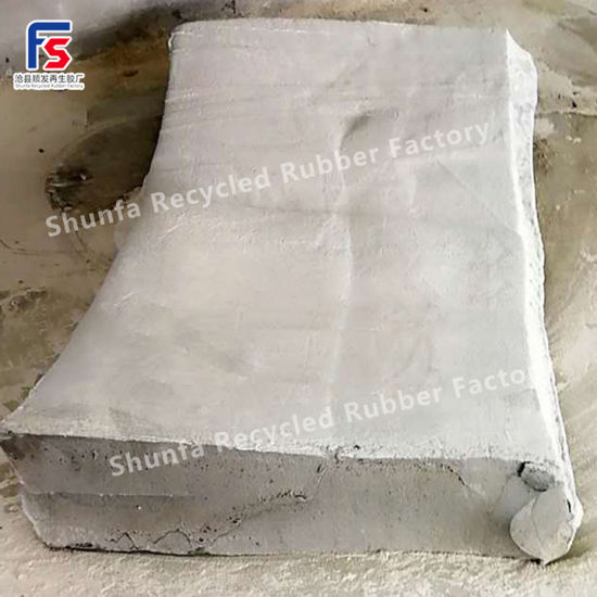 Waterproof Latex Recycled Rubber, High Strength Stretch Recycled Rubber, Flaky Latex