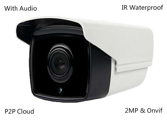 1080P Security Waterproof Outdoor CCTV Network Surveillance IP Camera with Audio pictures & photos
