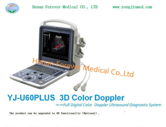 Cheap 3D Color Doppler Ultrasonnd Scanner with Cardiac Probe pictures & photos