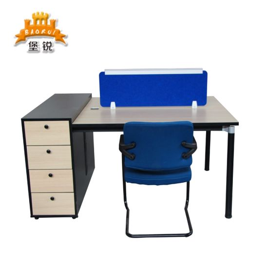 China Simple Design Two Person Office Workstation Desks China Office Workstation Office Desk