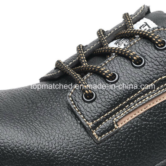 Wholesale Genuine Leather Engineering Working Safety Shoes with S3 S1p En20345 pictures & photos