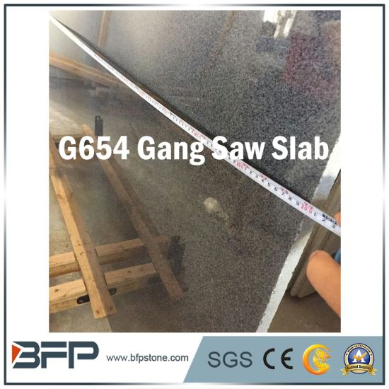 Chinese Popular G654 Padang Dark Big Slab for Floor/Wall Tiles pictures & photos