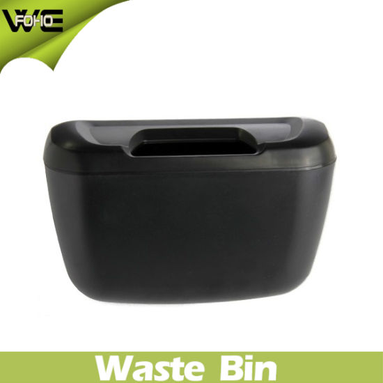 Blue Garbage Can Plastic Waste Bin for Car (FH-AB001) pictures & photos