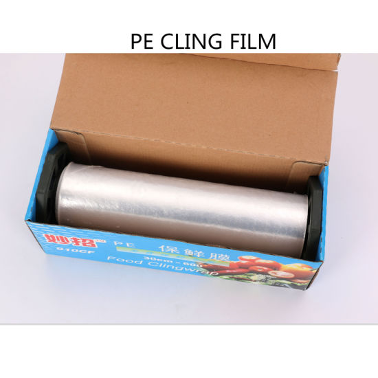 Hot Sale Multi Size Food Cover Silicone Cling Film Mill Roll Jumbo pictures & photos