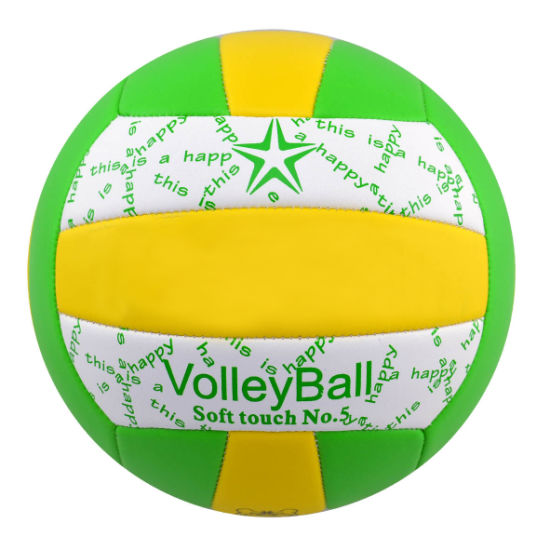 5#PVC PU Machine Stitching Volleyball pictures & photos