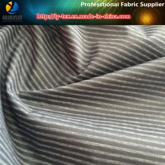 Make -to-Order Polyester/Nylon Mixed Stripe Fabric for Jacket in Korea, (LY-R0086) pictures & photos