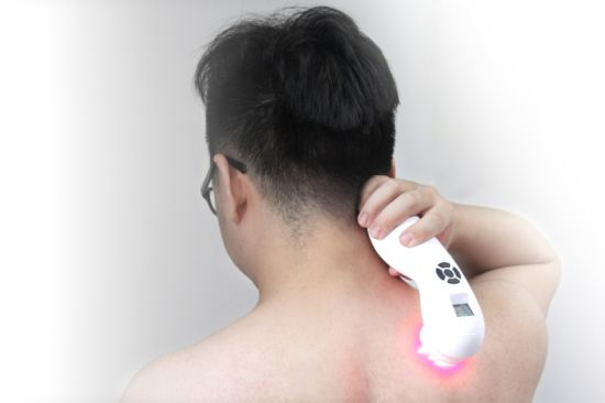 Fast Delivery Handheld 650nm & 808nm Low Leve Laser Therapy Device for Pain Relief pictures & photos