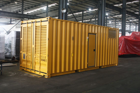 Kanpor Factory 800kVA/640kw 1000kVA/800kw Container Type Cummins Silent Generator Set pictures & photos
