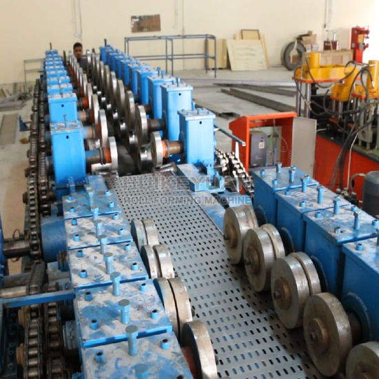 Cable Tray Roll Forming Machinery Making Bridge Material