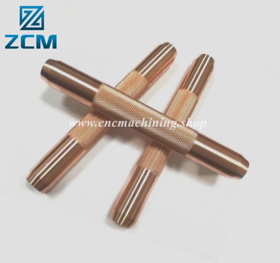 High-End Custom Made Small Batch Production Farm Machine Brass/Copper Machining Parts