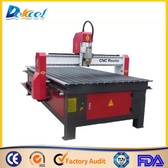 1325 T-Slot Table CNC Router Woodworking Engraving Machine Price pictures & photos
