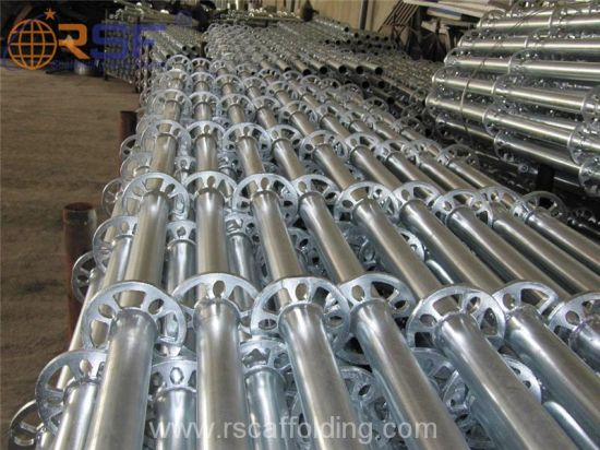 Chinese Supplier BS1139 Galvanized Ringlock Scaffolding for Building