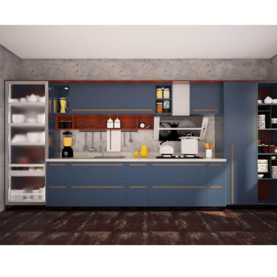 Beau China Factory Stainless Steel Autocad Modern Kitchen Cabinets