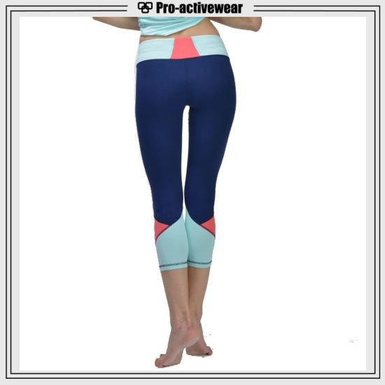 Wholesale Custom Made Sublimation Printing Women Yoga Pants pictures & photos