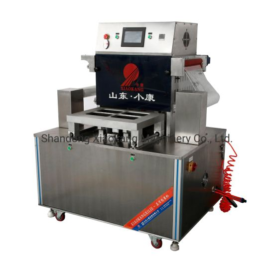 Dh-Zt Vacuum Skin Packaging Machine for Seafood Cheese Fish Shrimp Meat Steak