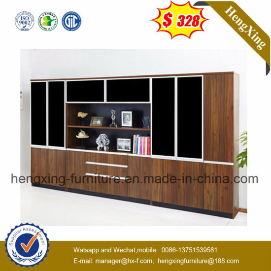 Hot Sale High Quality Wooden Antique Office Bookcase HX 6M165
