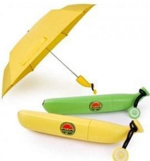 Mini Wholesale Fashionable Banana Bottle Umbrella