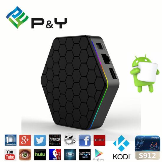 China Hot in T95z Plus Amlogic S912 Kodi 17 0 Android TV Box