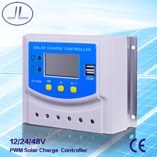 Lp-K60 PWM Intelligent Solar Charge Controller pictures & photos