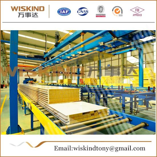 Low Price PU/EPS/Polyurethane/Rock Wool/Glass Wool Sandwich Panel
