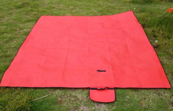 Folding Portable Non Woven Mat, Travel Camping Picnic Blanket pictures & photos