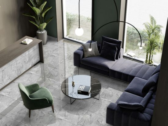 Zibo Grade AAA Full Polished Glazed Porcelain Floor Tile