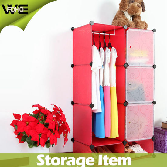 Plastic Storage Cabinet Ready Assembled Wardrobes for Bedroom  sc 1 st  Yongkang FOHO Sport And Leisure Co. Ltd. & China Plastic Storage Cabinet Ready Assembled Wardrobes for Bedroom ...