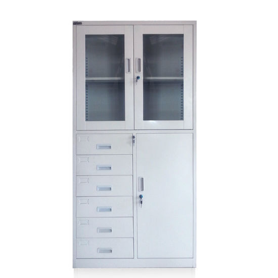 Office Use Metal 4 Drawer Vertical Filing Cabinet (FEC PLD-001) pictures & photos
