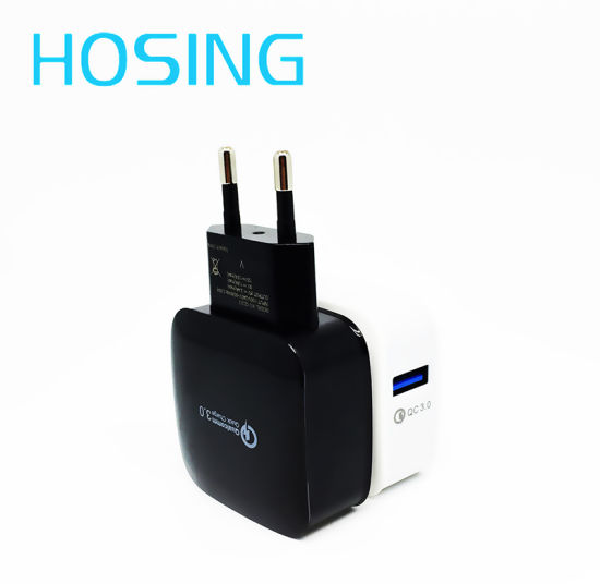 Portable USB Charger QC 3.0 USB Wall Charger for Samsung pictures & photos