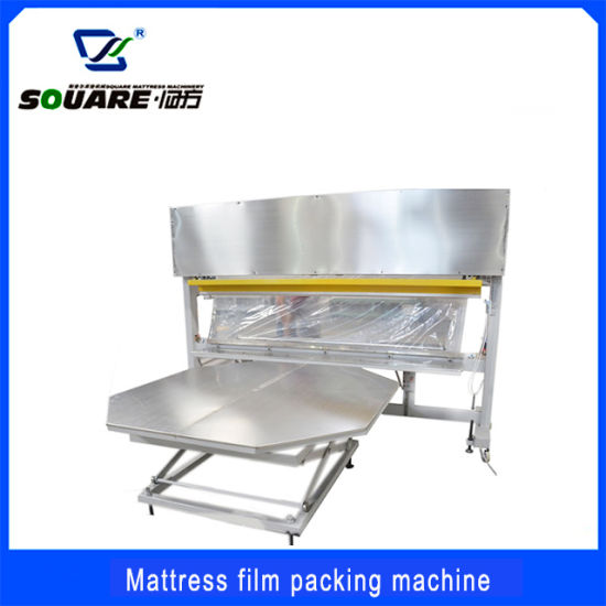 Economic Mattress PVC Film Packing Machine Mattress Covering Machine