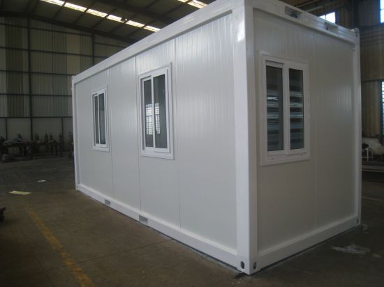 Low Cost Flat Pack Prefab Container Office pictures & photos